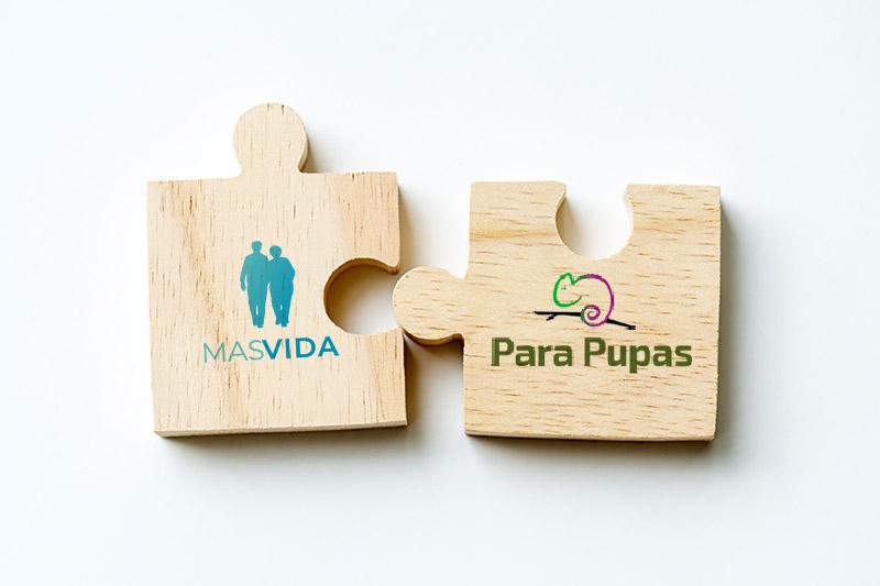 Colaboración entre Parapupas y Mas Vida